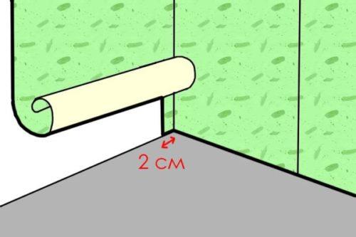 Оклейка внутренних углов