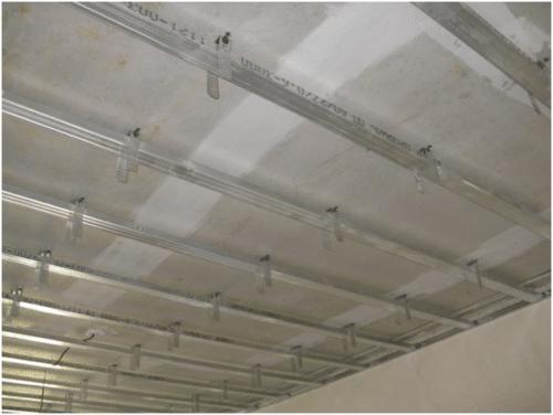 каркас под подвесной потолок