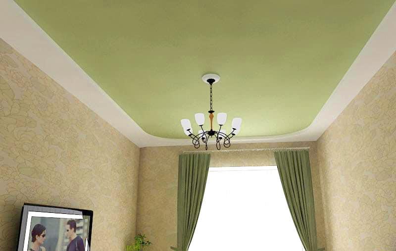 сатин потолок 2