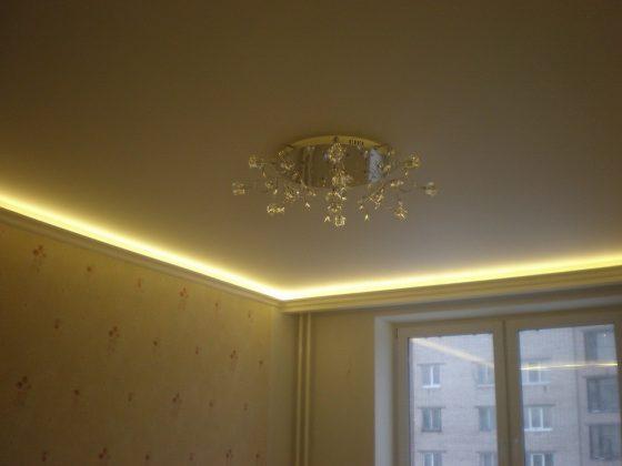 сатин потолок 3