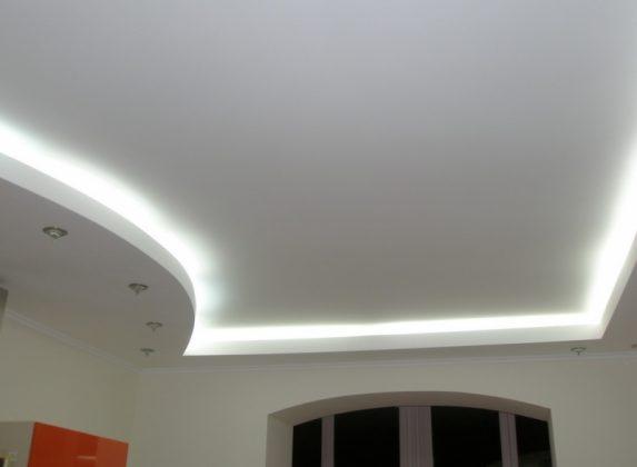 сатин потолок 5