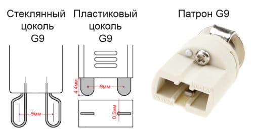Цоколь G9