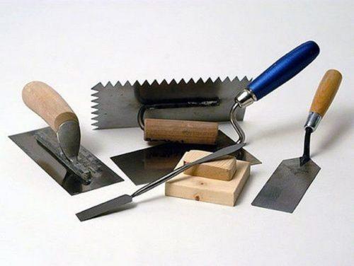 Инструменты для штукатурки откосов