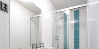 отремонтированная ванная