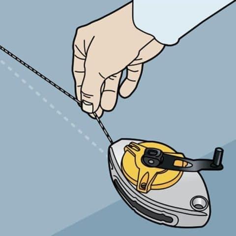 Отбивочный шнурок