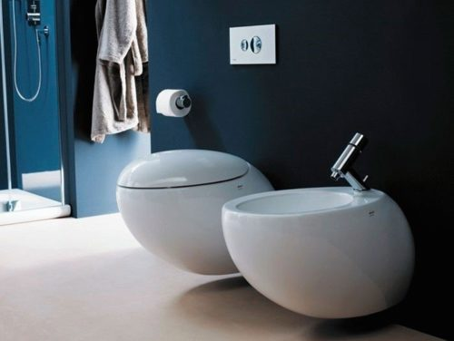 Оригинальный дизайн сантехники превращает санузел в роскошно оформленное помещение