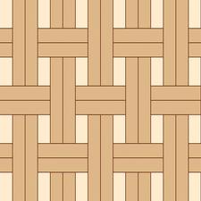 плетенка двойная из разноформатного паркета