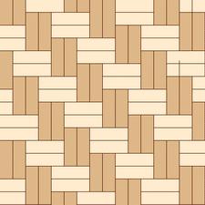 ёлочка двойная диагональная из из разных пород дерева