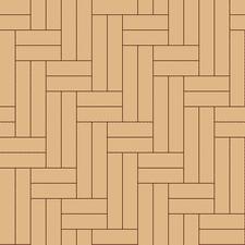 ёлочка двойная диагональная из разноформатного паркета