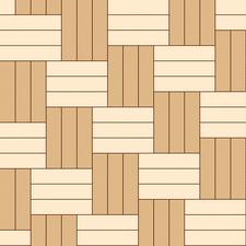 ёлочка тройная диагональная из разных пород дерева
