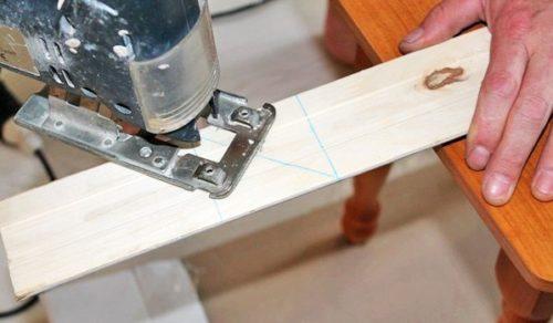 Для лобзика линия реза должна быть хорошо прорисована