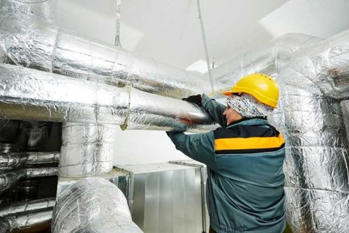 термоизоляции вентиляционных воздуховодов