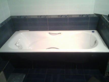 ванна из чугуна