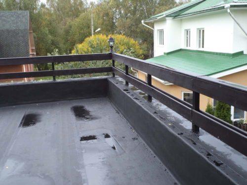 Гидроизоляция крыши перед засыпкой керамзитом
