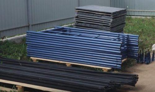 Леса фабричного производства
