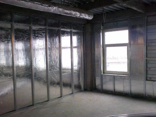Фольга для утепления стен изнутри дома