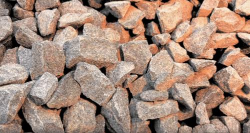 камень дробят
