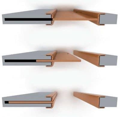 Схема работы кассетной двери