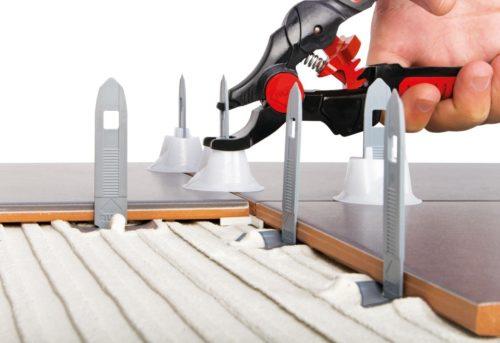 Выравнивание плитки системой Rubi Tile