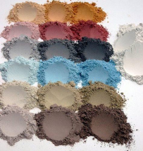 Цветовая гамма цементной фуги