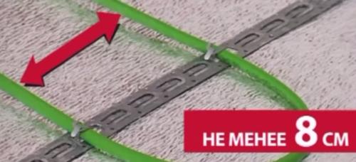 Расстояние между проводами