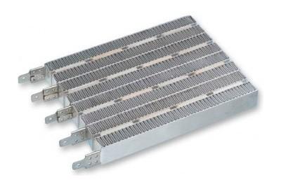 Керамическая решетка с нагревательными элементами внутри