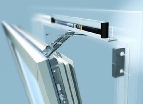 Механизм состоит из металлических подвижных ножниц