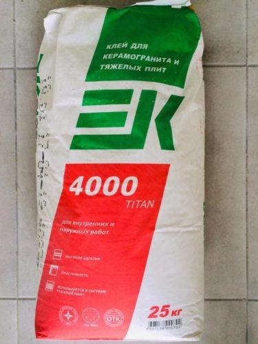 «ЕК Титан 400»