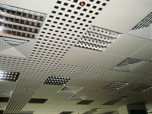 из металла делаются растровые потолки